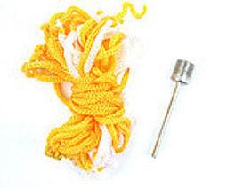 高檔尼龍網袋+金屬氣針 球類充氣鋼針 10套裝