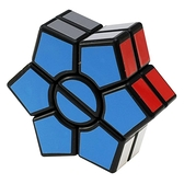 魔方 點盛老牌實色非貼紙六角魔鏢SQ魔方2層異形魔方益智玩具 交換禮物