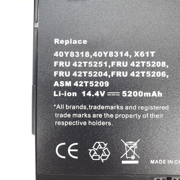 LENOVO X61T 64++ 原廠規格 電池 40Y8314 40Y8318 FRU 42T5204 42T5206 42T5208 42T5251 ASM 42T5209 ThinkPad X60T X61T
