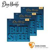 【木吉他弦】Dean Markley 2034-3PK 黃銅 民謠吉他弦 Blue Steel 11 - 52 /台灣公司貨 三包組