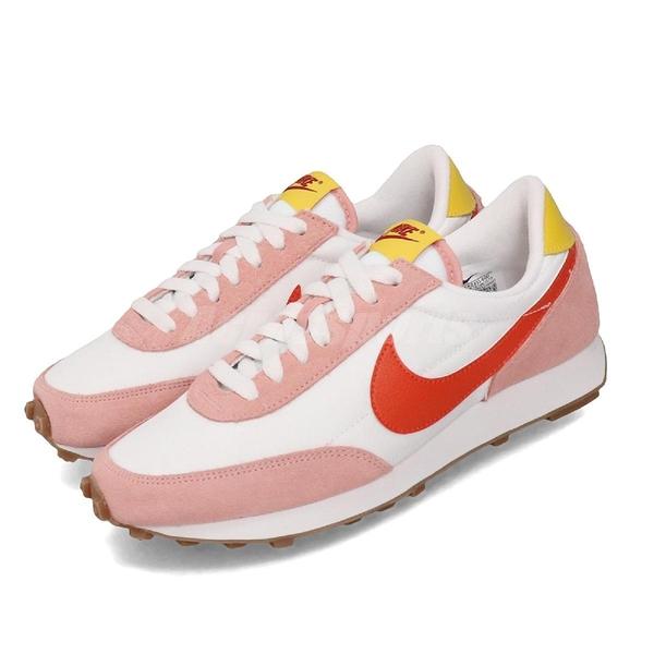 Nike 休閒鞋 Wmns Daybreak 白 橘紅 女鞋 運動鞋 【ACS】 CK2351-600
