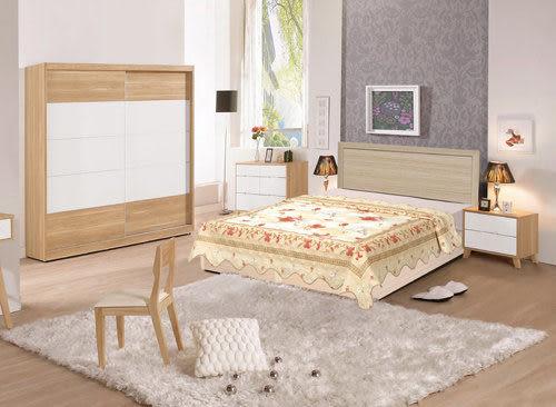 【時尚屋】超值Terry5尺床片型後封邊雙人床組只含床頭片+床底-不含床墊台灣製