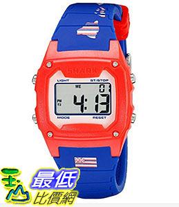 [106美國直購] Freestyle 手錶 Unisex 10022123 B00TYE8RF8 Shark Classic Hawaii Digital Display Japanese Quartz Blue Watch