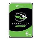 Seagate 希捷 BarraCuda 新梭魚 6TB 3.5吋 SATA HDD ST6000DM003