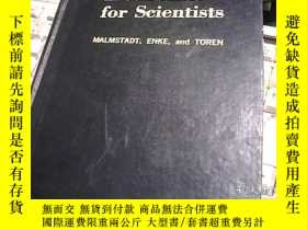 二手書博民逛書店Electronics罕見for Scientists 科學家用