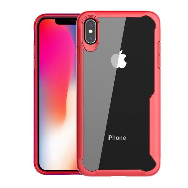【SZ34】簡約防摔透明二合一 iPhone Xs手機殼 iPhone XR iPhone XS Max手機殼