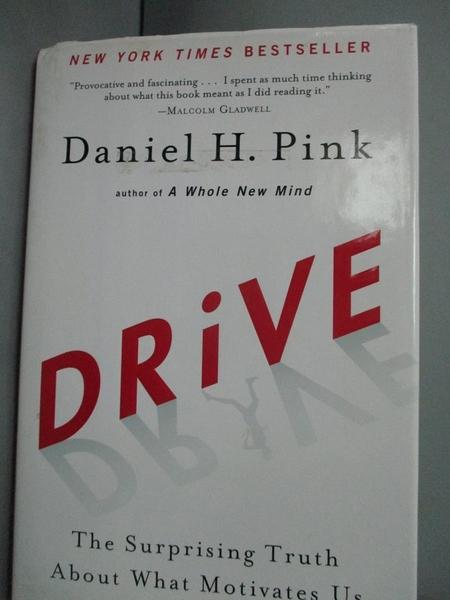 【書寶二手書T3/勵志_WEP】Drive: The Surprising Truth About What Motiv