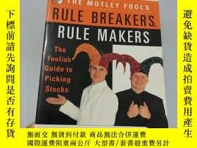 二手書博民逛書店THE罕見MOTLEY FOOL S RULE BREAKERS
