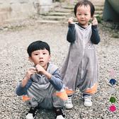 防踢被 超細綿絨背心分腳防踢睡袋 橘魔法 Baby magic 兒童 男童 女童 小童 童裝
