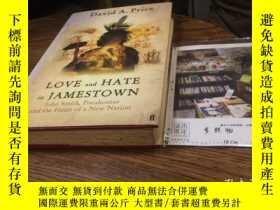 二手書博民逛書店英文原版罕見love and hate in JamestownY181828 DAVID A.PRICE F