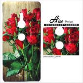 客製化 XZ2手機殼 多型號製作 木紋玫瑰花