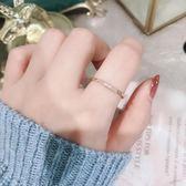 韓國網紅新款love食指鈦鋼戒指女不褪色日韓國潮人學生簡約小清新 週年慶8折