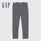Gap女幼棉質童趣印花鬆緊腰針織褲539055-多色條紋