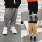 男童加絨褲子秋冬裝新款寶寶洋氣冬款薄絨休閒褲嬰兒保暖長褲 小山好物