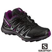 Salomon 女 XA LITE 野跑鞋-黑/磁石灰/葡萄紫 【GO WILD】