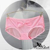 。。◆Turandot-杜蘭朵 ◆ 繽紛芭比  閃爍絲光  彈性透膚網紗  三角/平口小褲[ 03990030 ]粉紅 S~M