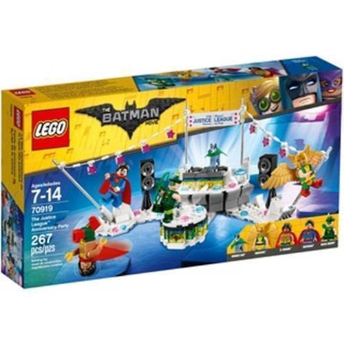 LEGO 樂高 BATMAN MOVIE DC The Justice League Anniversary Party 70919 (267 Piece)
