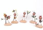 螞蟻裝飾品 鐵皮彩繪小擺件