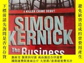 二手書博民逛書店Simon罕見kernick:The business of d
