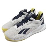 Reebok 訓練鞋 Nano X 白 藍 女鞋 多功能 運動鞋 CrossFit專用 【ACS】 FV6766