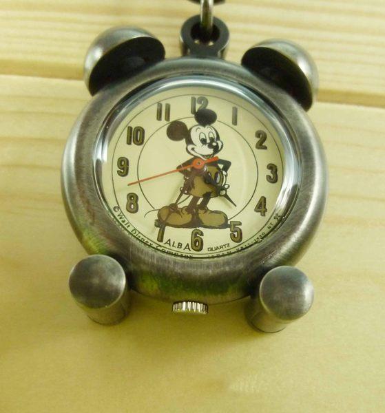 【震撼精品百貨】米奇/米妮_Micky Mouse~匙圈錶-圓形錶面-銅色【共1款】