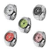 簡約系列男女士手錶學生防水飾品禮物精鋼戒指表迷你指環 小宅女大購物