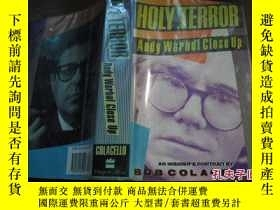 二手書博民逛書店HOLY罕見TERROR Andy Warhol Close U