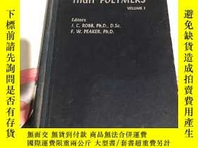二手書博民逛書店PROGRESS罕見IN HIGH POLYMERS VOLUM