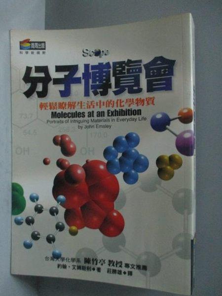 【書寶二手書T2/科學_HBF】分子博覽會-輕鬆瞭解生活中的化學物質_約翰‧艾姆斯利