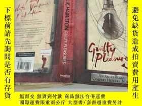 二手書博民逛書店LAURELLK罕見HAMILON GUILTY PLEASURES勞雷爾克·哈米隆有罪Y351232