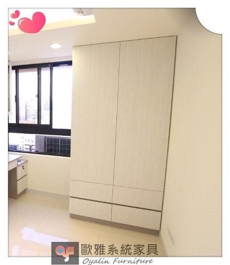 【系統家具】系統家具 /文化石/EGGER防潮塑合板/居家規劃『系統衣櫃』