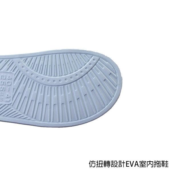 【333家居鞋館】厚底Q彈★仿扭轉設計EVA室內拖鞋-粉