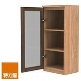 組 - 特力屋萊特 組合式書櫃 淺木櫃/淺木層板2入/深玻門1入 40x30x89.9cm
