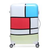 卡通行李箱萬向輪兒童登機拉桿箱旅行男箱包20寸24寸學生密碼箱女