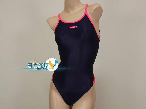 *日光部屋* TORNADO (公司貨)/RL-615-NVY 競泳款/耐穿/連身三角泳裝(韓國知名品牌)