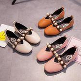 春夏新款兒童軟底童鞋演出珍珠女童公主鞋 LR1796【VIKI菈菈】