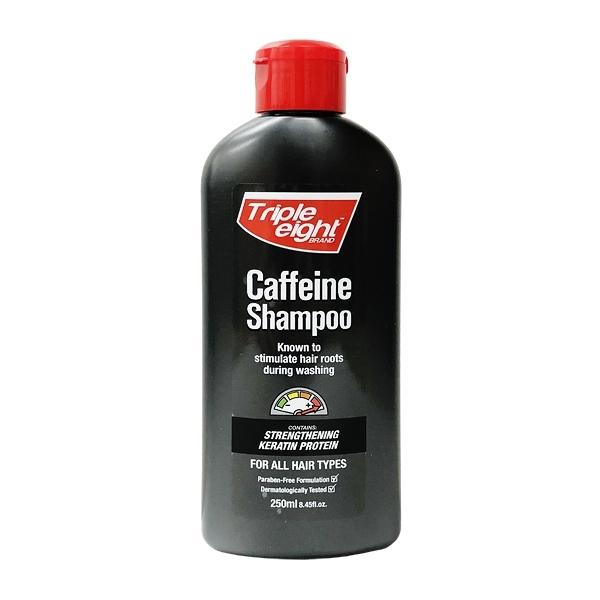 英國進口 Triple Eight 咖啡因洗髮精 小瓶裝