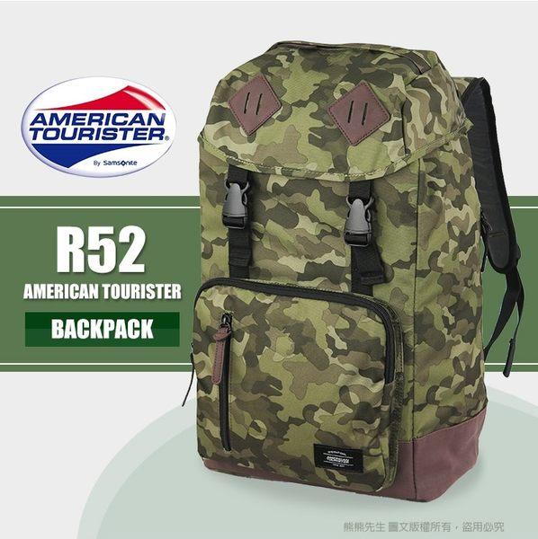 新秀麗Samsonite美國旅行者14吋電腦後背包 大容量筆電包休閒包 R52
