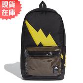 【現貨】Adidas POKEMON 背包 後背包 休閒 寶可夢 皮卡丘 黑【運動世界】GE1212