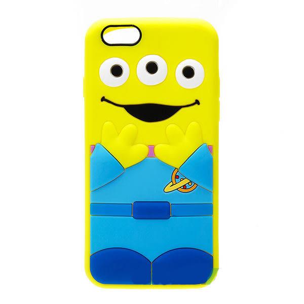 【漢博商城】iPhone 6/6S 4.7吋 Disney iJacket 迪士尼 立體矽膠軟殼 第二彈 三眼怪