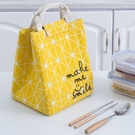 保溫袋 大號裝飯盒保溫袋鋁箔加厚便當包上班族帶飯的手提袋裝飯包包袋子-Ballet朵朵