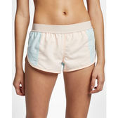 Hurley SUPERSUEDE ENJOY BR SHORT 海灘褲-粉(女)