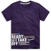 【101原創】台灣製.Take off短袖T恤上衣(男女適穿)-8601131