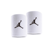 Nike Jorden Jumpman [JKN01101OS] 運動 打球 健身 護腕帶 吸濕 排汗 乾爽 彈性 白