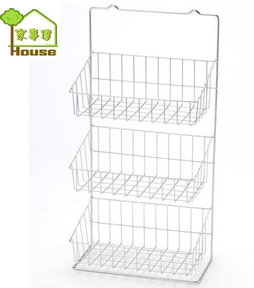 [家事達] AW- K905 皇家 不鏽鋼三層收納架 特價