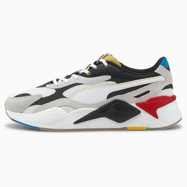 PUMA RS-X³ WH 男鞋 女鞋 老爹 復古 慢跑 緩衝 休閒 皮革 黑 白【運動世界】37330801