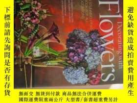 二手書博民逛書店Decorating罕見with Flowers: A Stun