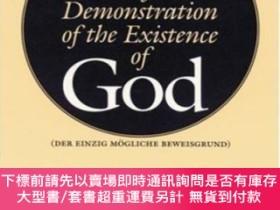二手書博民逛書店The罕見One Possible Basis For A Demonstration Of The Existe