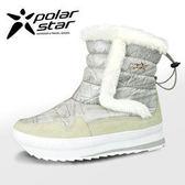 PolarStar 女 保暖雪鞋│雪靴『白』 P15616