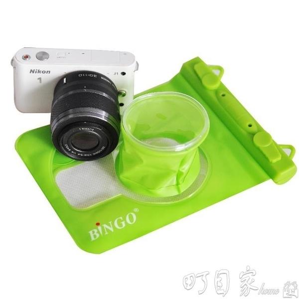 免運相機包Bingo賓果微單佳能尼康單反相機防水罩防沙套防水袋潛水袋 新年特惠